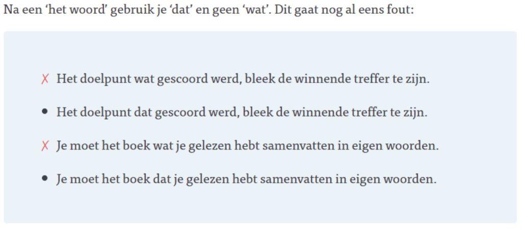 Voorbeeld Leswijs Nederlands
