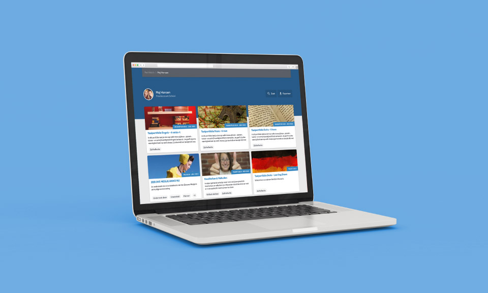 screenshot-van-het-portfolio-in-Learnbeat-verzamelt-werk-in-een-map