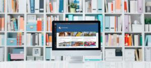 Portfolio in Learnbeat op beeldscherm