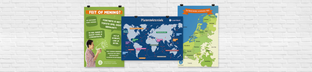 educatieve-posters-Learnbeat-Nederlands-Aardrijkskunde-Geschiedenis