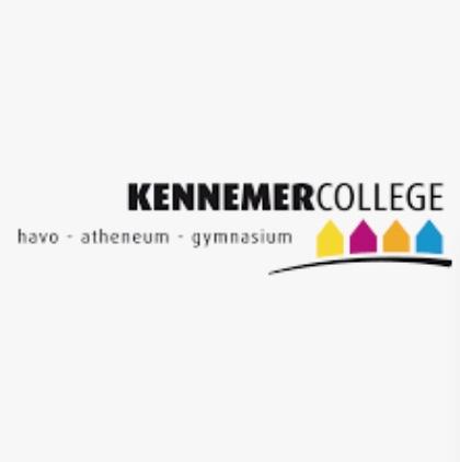 Logo Kennemer College