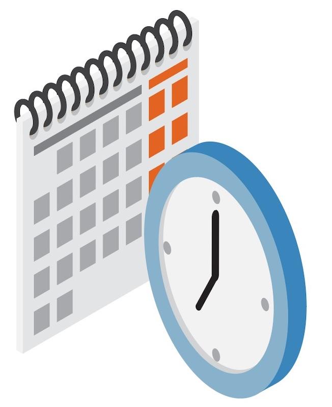 kalender-met-een-klok