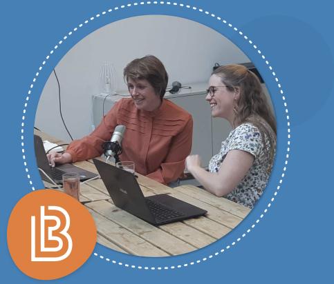 Anne en Marit van Learnbeat geven online training aan docenten