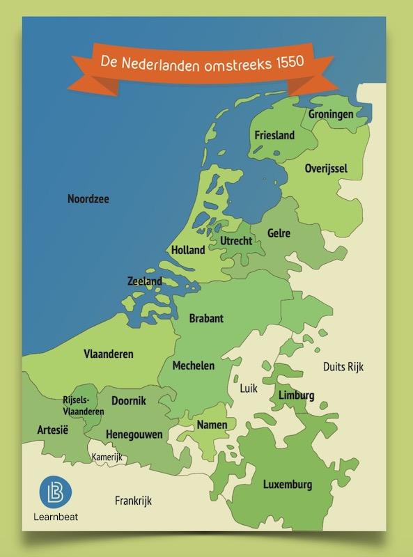 geschiedenis-educatieve-poster-nederlanden-1550