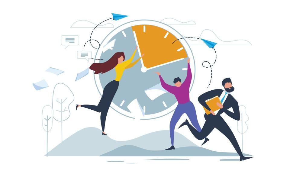 Door de hoge werkdruk in het onderwijs ervaren veel docenten hun lesdag als een gevecht tegen de klok.