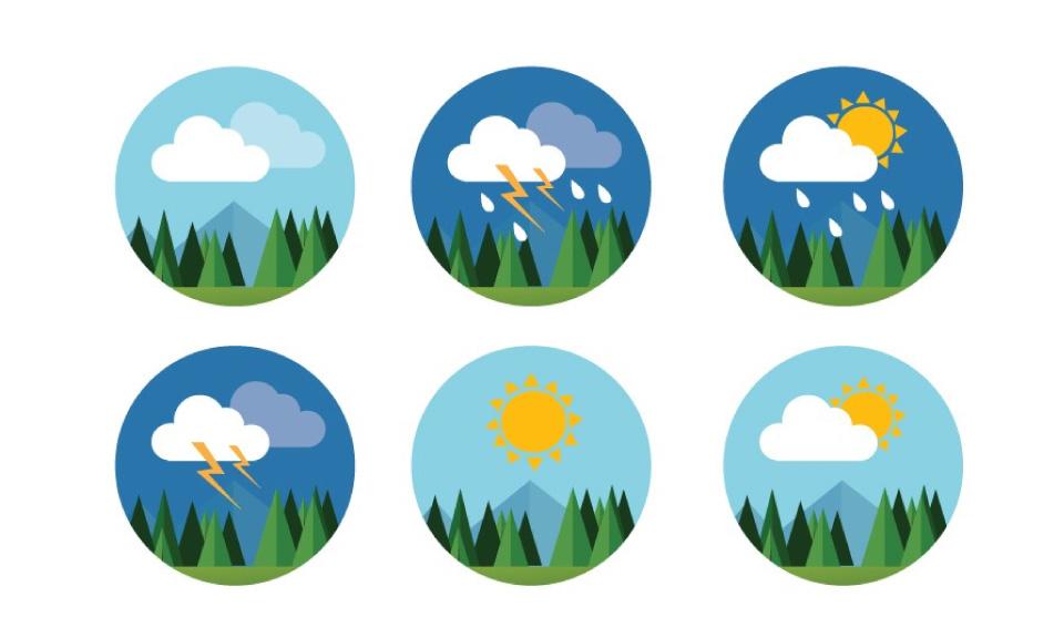 Het weerbericht is een vergelijking voor de toepassing van learning analytics