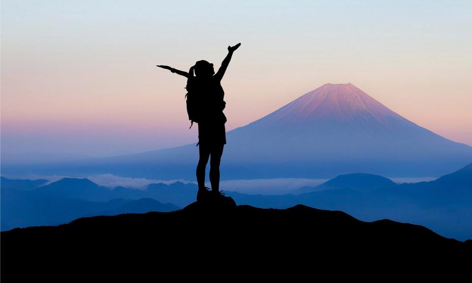 Om de top te bereiken heb je motivatie nodig.