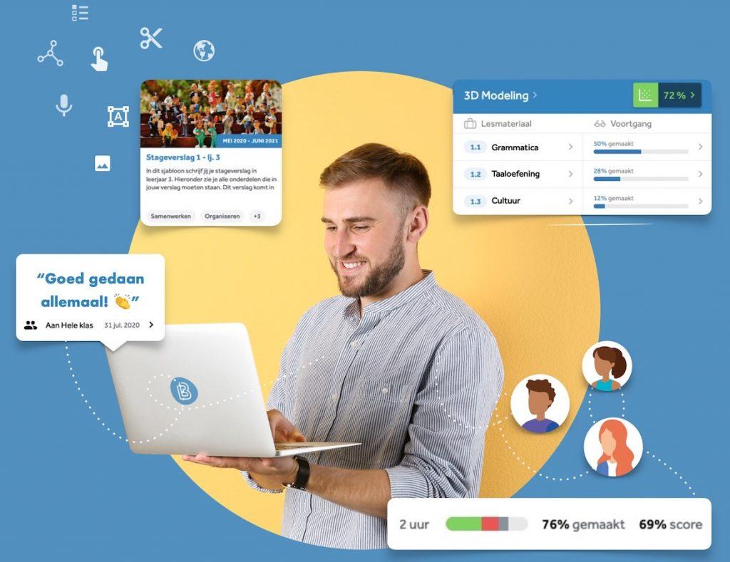 mbo docent houdt voortgang van leerlingen bij in Learnbeat