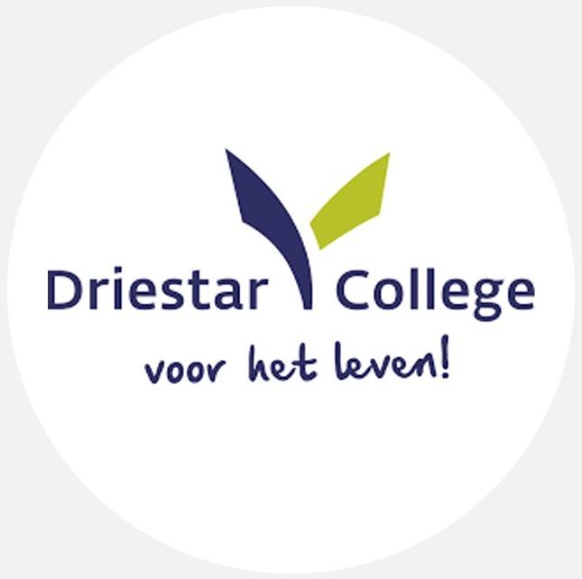 Logo rond - Driestar College