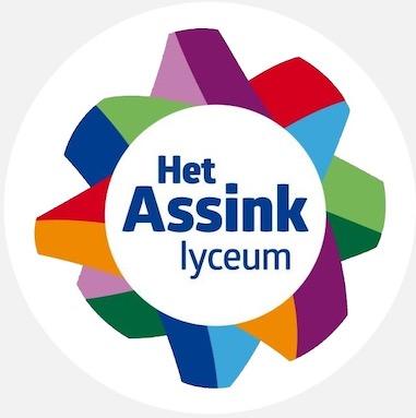 Logo rond van het Assink Lyxceum