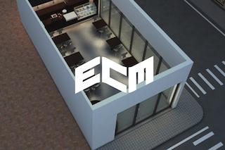Logo ECM keuzedeel 3D modelling producttekeningen meubelindustrie in Learnbeat