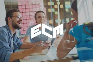 Logo ECM opleiding ondernemend meubelmaker scheepsinterieurbouwer in Learnbeat