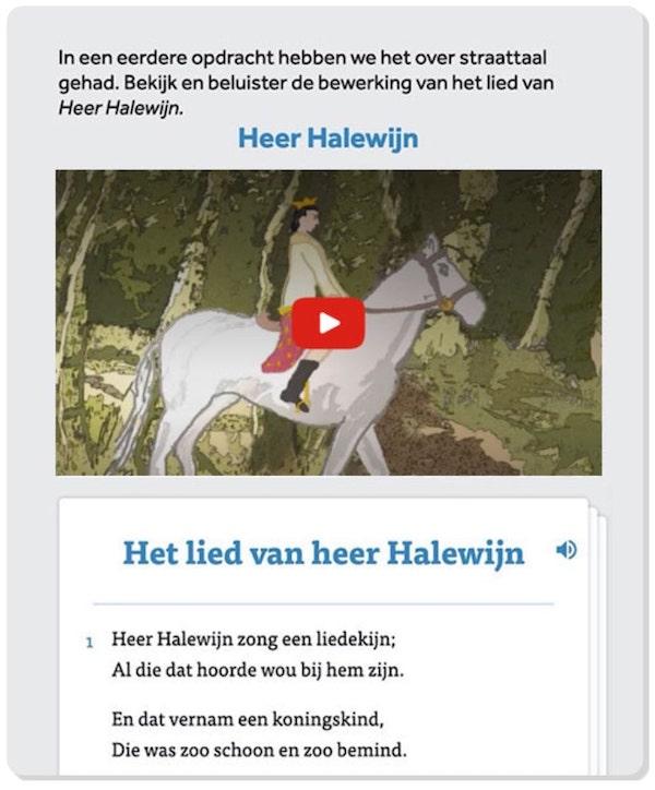 Marsman-Literatuur-opdracht-heer-halewijn