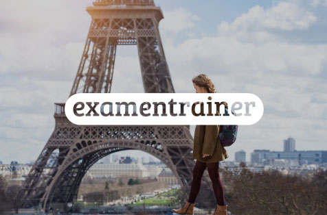 Logo Examentrainer Frans in Learnbeat
