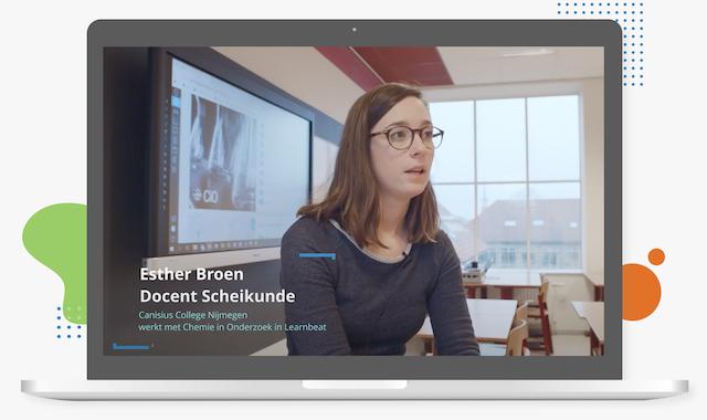 Esther Broen Canisius College Nijmegen heeft meer inzicht in voortgang en resultaten dankzij Learnbeat