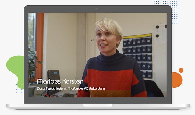 Marloes Korsten Thorbecke VO in Rotterdam toetsen voor leerlingen met dyslexie in Learnbeat