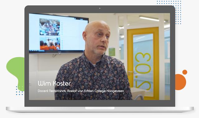 Wim Koster Roelof van Echten College Hoogeveen over digitaal toetsen in Learnbeat