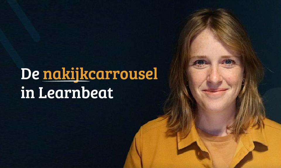 In oktober 2021 is de nieuwe functie in Learnbeat live: de nakijkcarrousel voor leerlingen