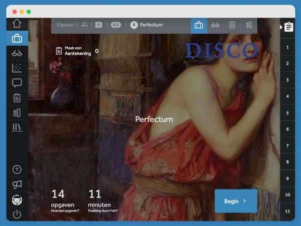 Disco in Learnbeat