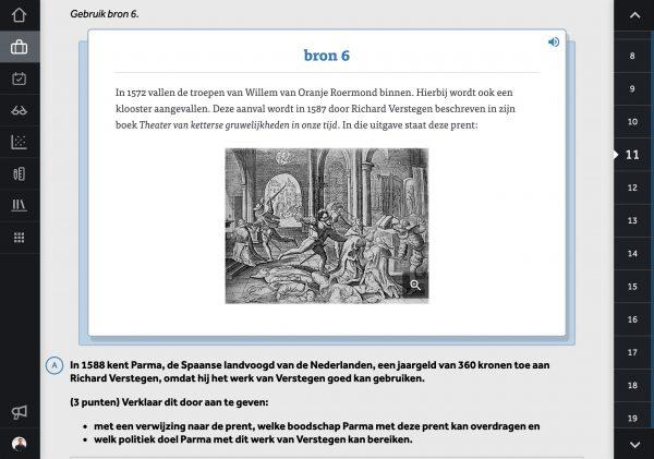 Examentrainer-Geschiedenis-in-Learnbeat-bron