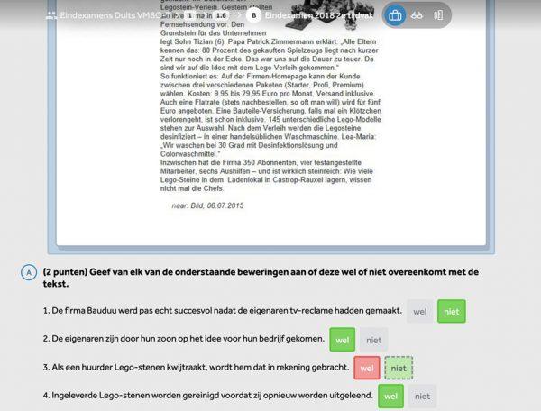 opgave-uit-examentrainer-duits-gatentekst-kiezen-in-learnbeat