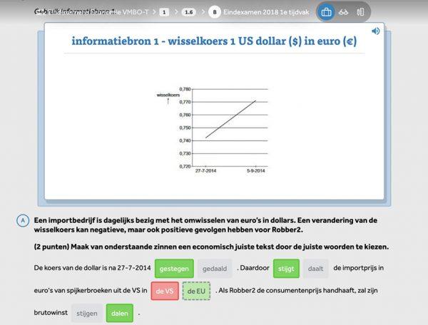 opgave-meerkeuze-wisselkoers-uit-modeule-examentrainer-economie-in-learnbeat