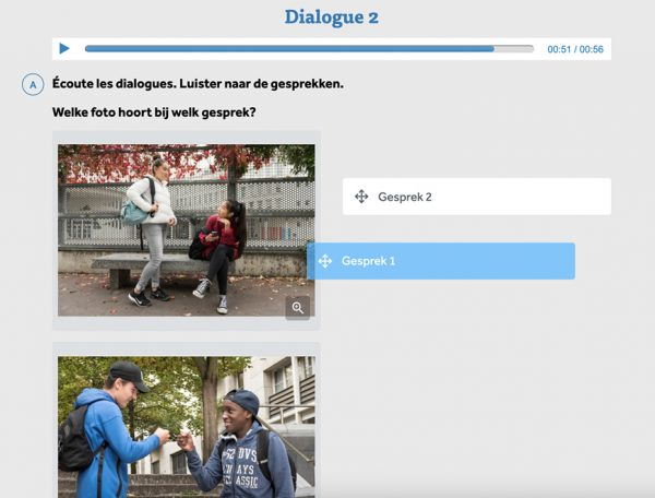 audiofragmenten-opgave-dialoog-uit-libre-service-junior-frans-in-learnbeat