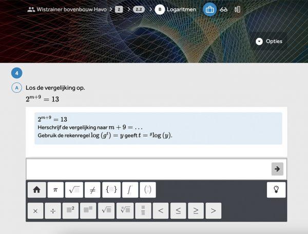 opgave-vergelijkingen-oplossen-in-methode-wiskunde-kern-in-learnbeat