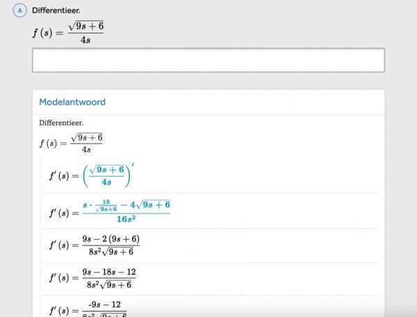 opgave-differentieren-in-methode-wiskunde-kern-in-learnbeat